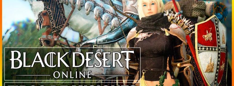 Black Desert: Sistema de misiones y guía de leveo