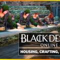 Black Desert: Guía de housing, crafteo y workers