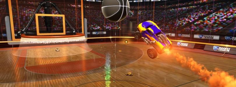 Rocket League anuncia su modo de baloncesto
