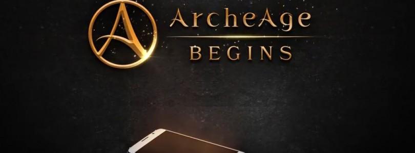 Se lanza oficialmente el juego para móviles ArcheAge Begins