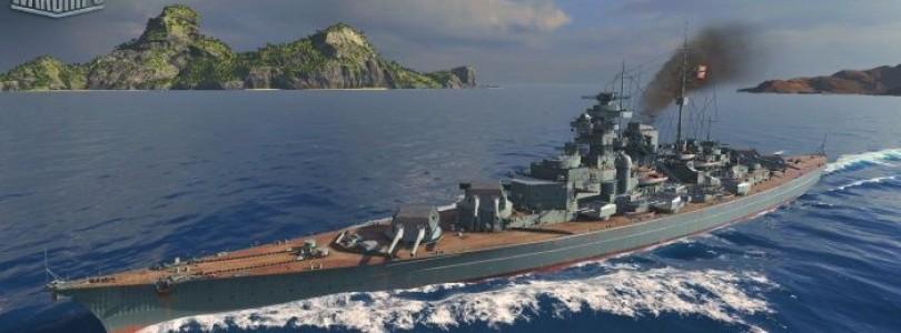 World of Warships presenta nuevos barcos alemanes