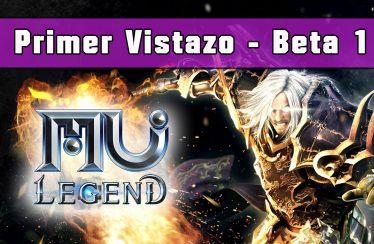 Primer vistazo en vídeo a la beta de MU: Legend