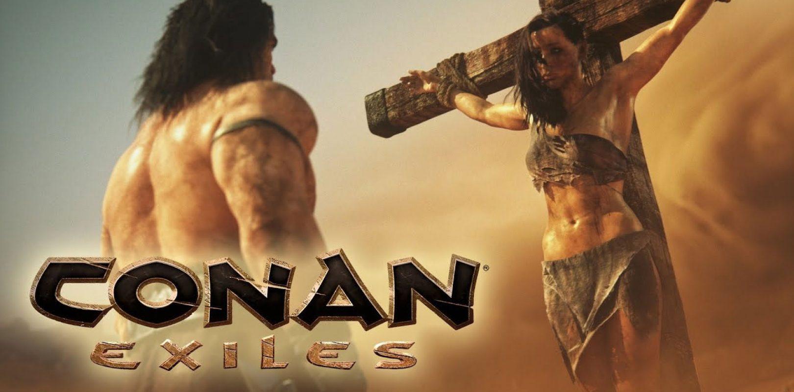 Conan Exiles cambiará las armas arrojadizas y añade las