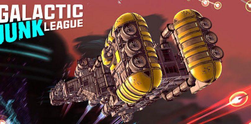 Construye tu propia nave y pelea contra otros jugadores en Galactic Junk League