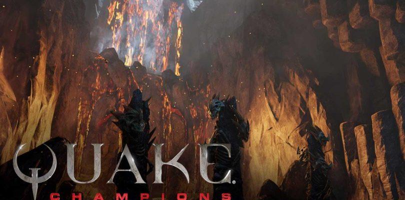 Quake Champions añade un nuevo héroe, nuevo mapa y anuncia sus eventos eSports de 2018
