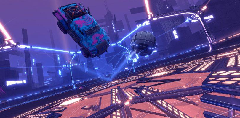 Rocket League introduce su nuevo modo Dropshot
