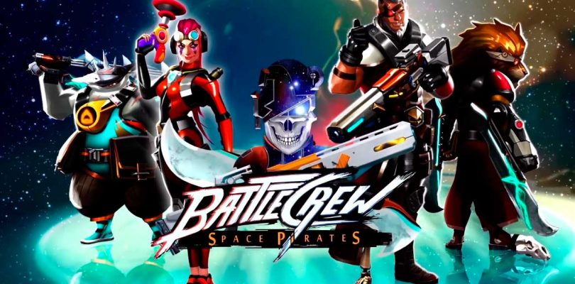 BATTLECREW Space Pirates es un nuevo shooter free-to-play en 2D