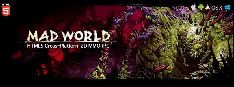 Mad World es un MMORPG creado con HTML5 que prepara su salida en Steam