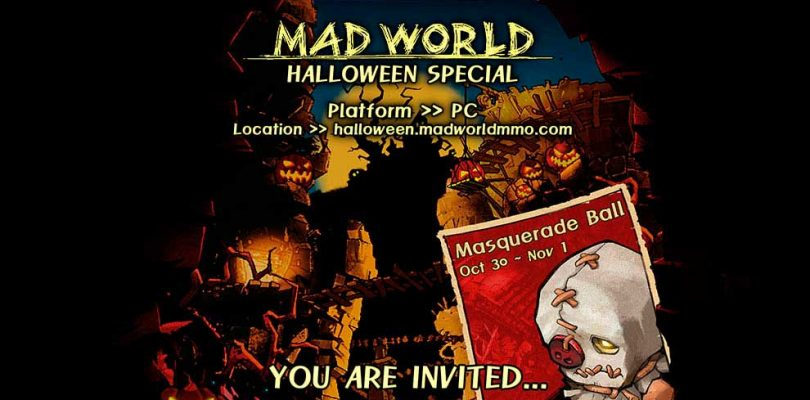 Mad World abrirá sus puertas para un evento especial de Halloween