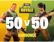 Fortnite Battle Royale presenta el modo de juego 50vs50