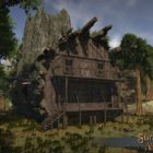 Shroud of the Avatar presenta las cabañas de madera