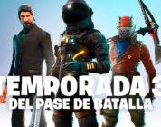 Fortnite trae la temporada 3 del Battle Royale ademas de monturas y nuevos héroes para el PvE
