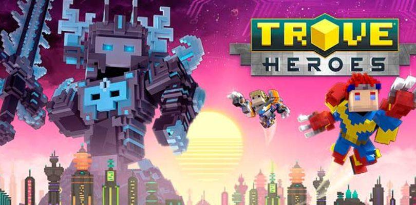 La expansión Trove Heroes llega hoy a este voxel MMO