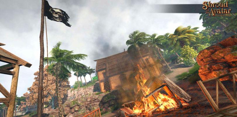La actualización 53 de Shroud of the Avatar mejora su historia, añade misiones y facilita la búsqueda de grupos