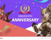 ¡Webzen cumple 9 años y lo celebramos con un reparto de claves!