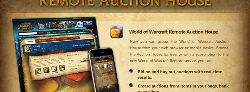 Blizzard acaba con el acceso a la subasta de forma remota