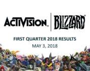 Récord de beneficios en el primer cuatrimestre de 2018 para Activision Blizzard