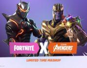 Ya disponible el evento de Fortnite BR junto a Avengers: Infinity War