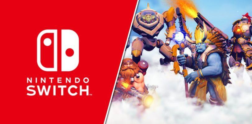 Paladins ya disponible en Nintendo Switch de forma gratuíta