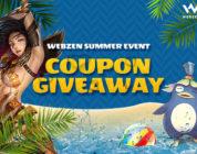 ¡500 claves con regalos para el juego de WEBZEN que elijas!
