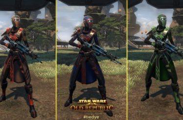 Así se diseñan y recrean las armaduras de Star Wars: The Old Republic