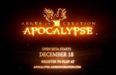 Ashes of Creation Apocalypse, el modo battle royale, lanzará su beta abierta el 18 de diciembre