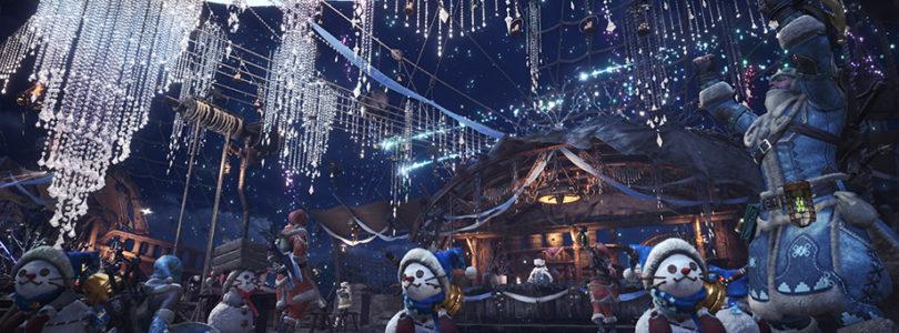 Monster Hunter World lanza su evento invernal «Winter Star Fest»