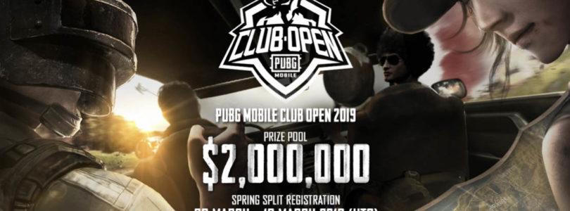 PUBG MOBILE Club Open 2019 (PMCO 2019), una competición que contará con equipos semi-profesionales y profesionales de PUBG MOBILE