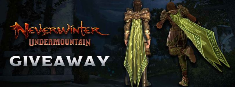 ¡Regalamos 100 capas para Neverwinter!