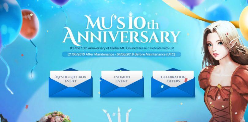 MU Online celebra su 10º aniversario con muchos eventos