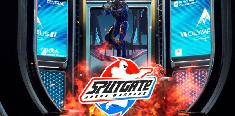 La beta abierta del shooter competitivo Splitgate estrena juego cruzado entre PC y consolas