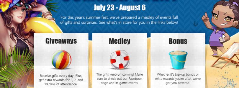 El evento anual de verano de Webzen empezó hoy en Webzen.com