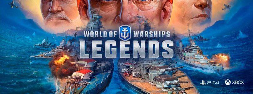World of Warships: Legends se lanza oficialmente para PS4 y Xbox One