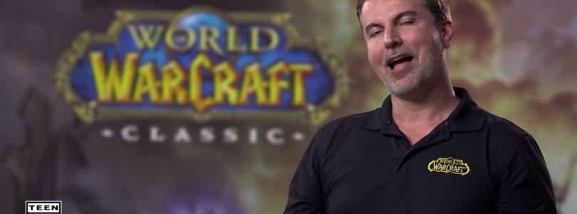 WoW Classic revela un nuevo vídeo con desarrolladores originales