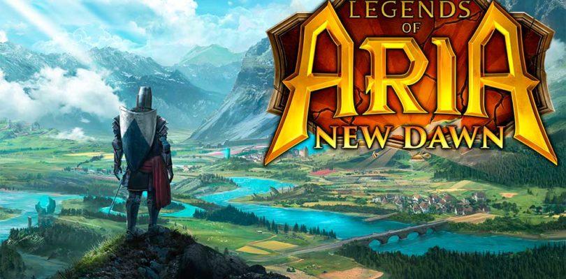 """Legends of Aria se transformara en Free To Play con la llegada de la actualización """"New Dawn"""""""