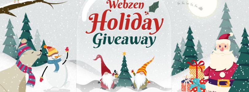 ¡1000 regalos navideños para los juegos de WEBZEN!