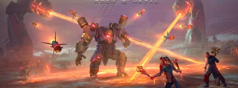 SKYFORGE recibirá en diciembre su expansión Rock & Metal para PS4, XBOX ONE y PC