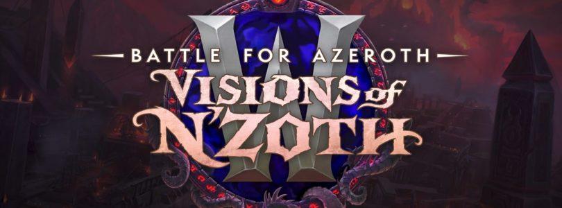 ¡Ya está disponible Visiones de N'Zoth en World of Warcraft!