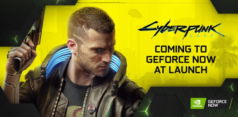 Nvidia confirma Cyberpunk 2077 en GeForce Now en el lanzamiento