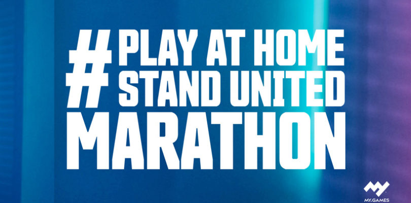 MY.GAMES lanza la campaña #PlayAtHomeStandUnited