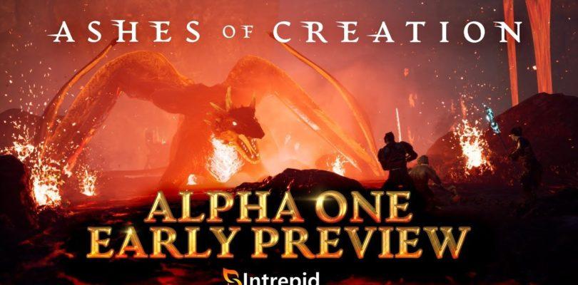 Gameplay de la Alpha One de Ashes of Creation