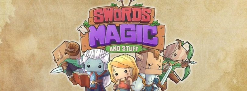 Swords 'n Magic and Stuff es un nuevo y simpático RPG cooperativo en mundo abierto