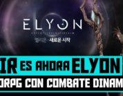 A:IR ahora es ELYON – Nuevo MMORPG primeros detalles y confirmado el lanzamiento en occidente