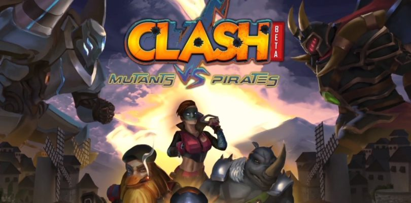 Repartimos claves regalo para Clash: Mutants Vs Pirates