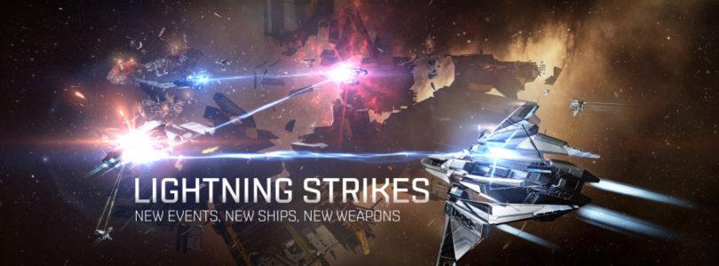 Ya está disponible el evento «Lightning Strike» en EVE Online