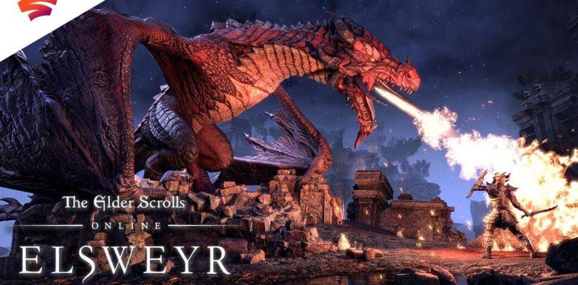 The Elder Scrolls Online ya está disponible en Google Stadia