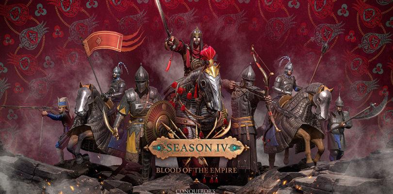Ya está disponible la SEASON IV: BLOOD OF THE EMPIRE de Conqueror's Blade