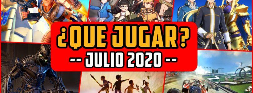 ¿QUÉ JUGAR? – Planes JULIO 2020 – Lanzamientos nuevos  MMO, FPS, Co-Op