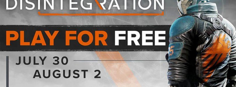 Fin de semana gratuito de Disintegration en PC, PlayStation 4 y Xbox One