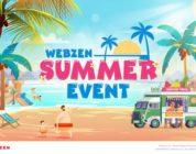 Disfruta del calor del verano con el Evento Anual de Verano de Webzen